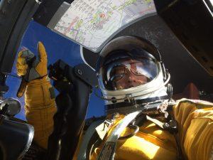 "U2 Pilot Lt. Col. Jon ""Huggy"" Huggins"