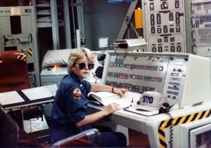 Morris on duty at a Titan II missile silo.