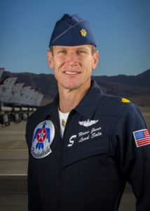 """Thunderbird 5"" Lead Solo Pilot Maj. Blaine Jones"
