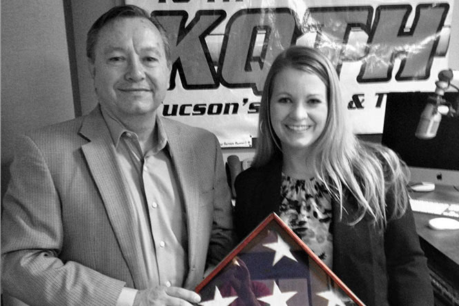 VETERANS DAY – MAJ. GEN. TED MAXWELL AND PFC JESSICA LYNCH