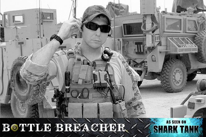 "Previous Next ""SWORDS INTO PLOWSHARES"" – NAVY SEAL ELI CRANE – ""BOTTLE BREACHER"""