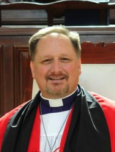 Bishop of the Armed Forces & Chaplaincy - Derek Jones