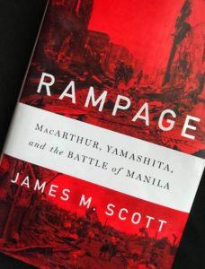 """Author James M. Scott - """"Rampage"""""""